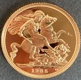 1985  Proof Full Gold Sovereign
